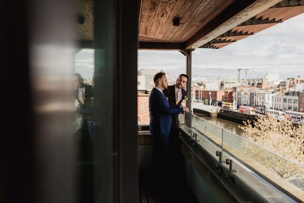 Copy of gay wedding in morrison hotel dublin