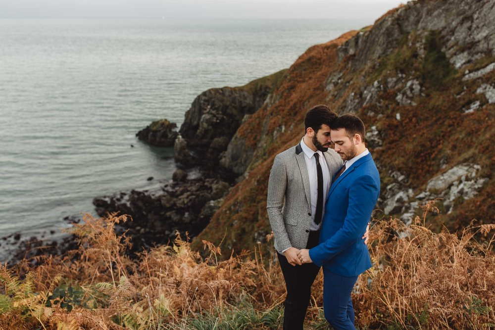 gay couple wedding photo shoot in dublin
