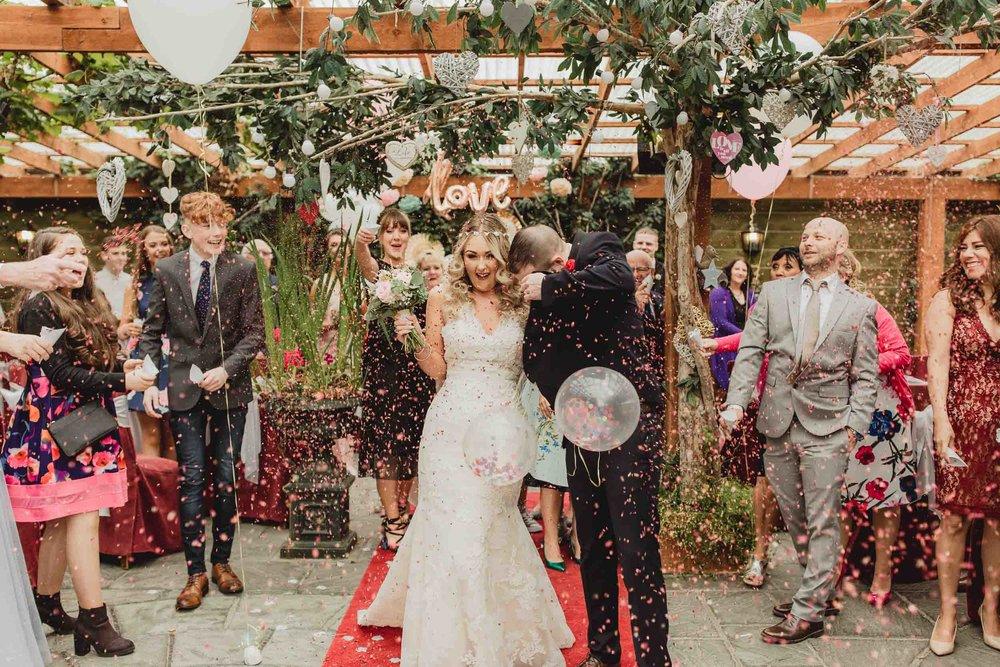 Copy of wedding ceremony at cloonacauneen castle in galway