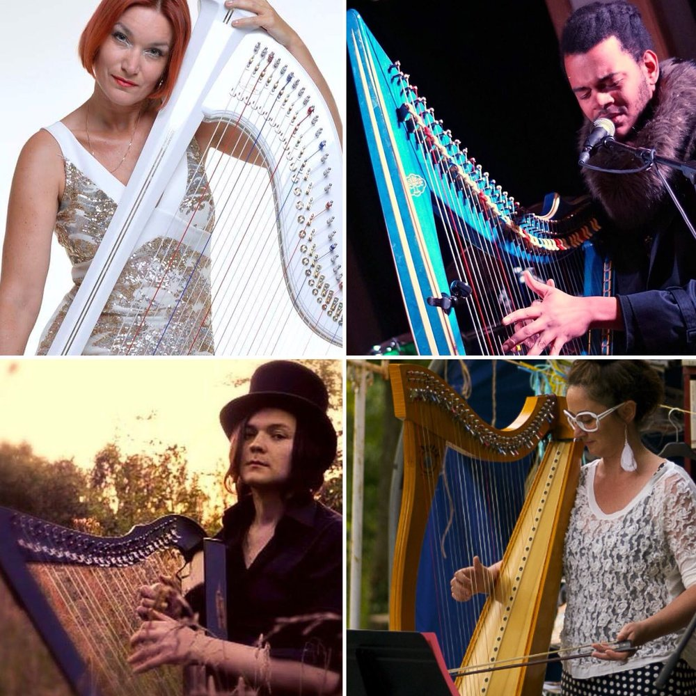 Top, Left to Right: Sabine James, Calvin Arsenia Bottom, Left to Right: Ivan Solas, Séverine Vidal