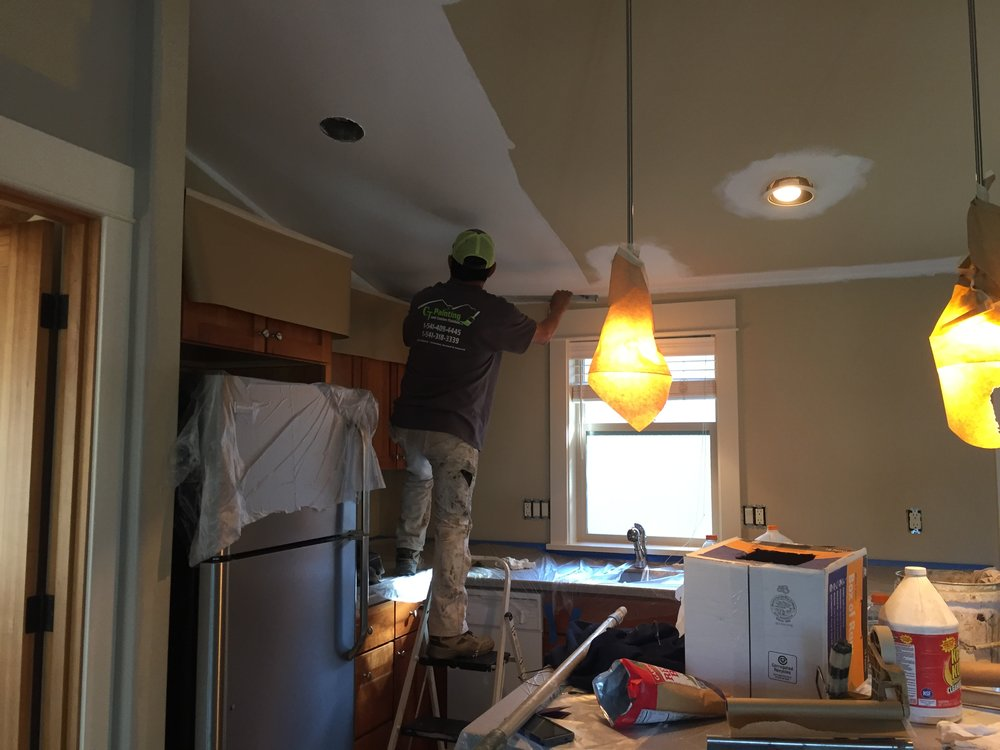 Interior / Exterior - CJ Painting is equipped to handle all aspects of painting; interior and exterior.