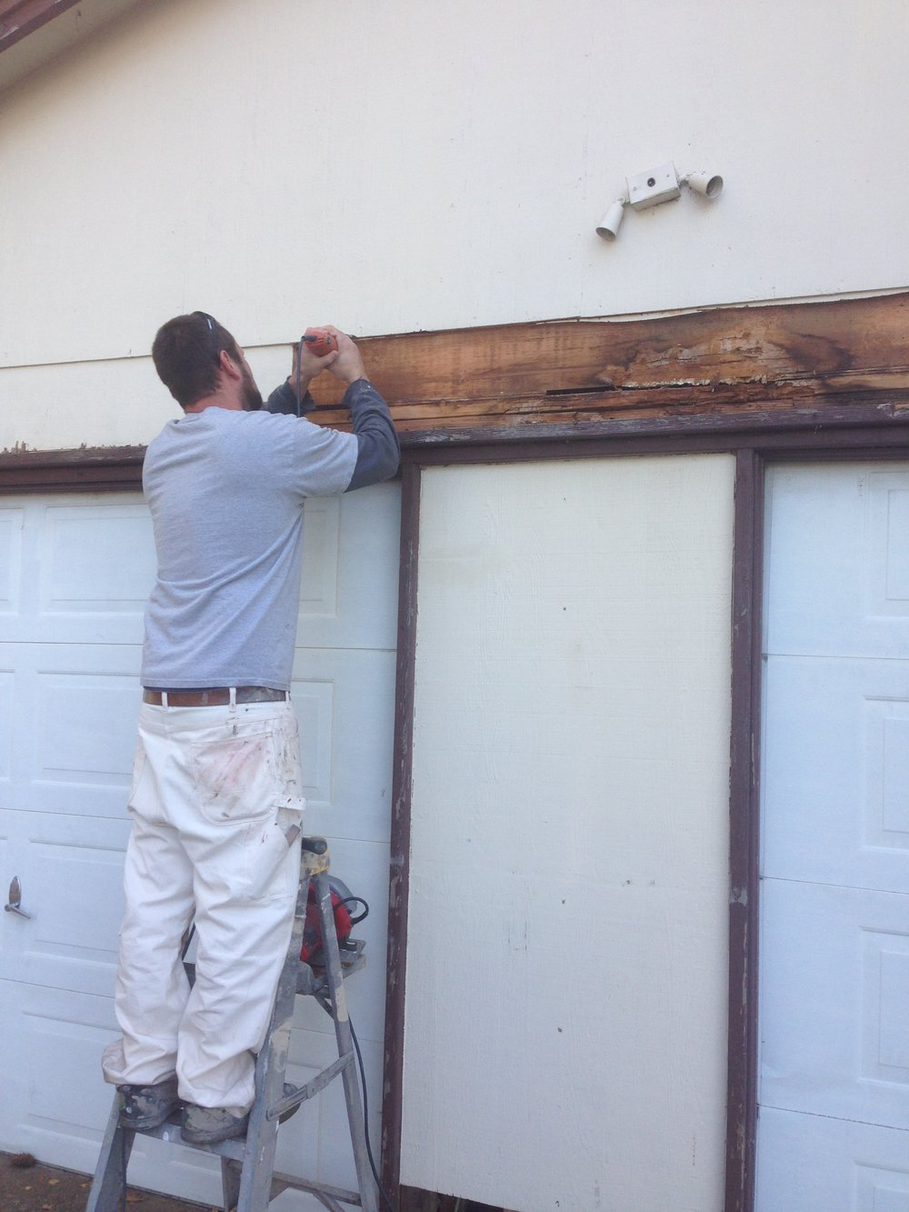 Construction Repair - We handle dry rot removal and repair, siding repairs, deck and fencing repairs, minor construction, etc.