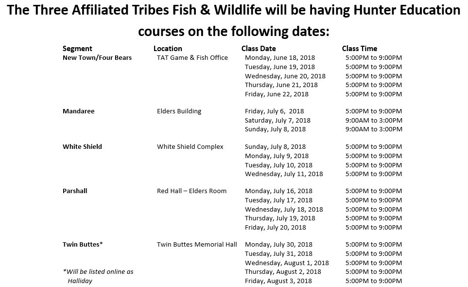 Game & Fish Summer 2018 Hunter Education Classes.jpg