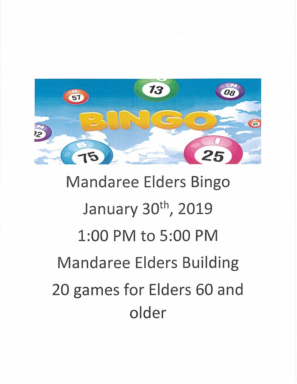 Mandaree Elders Bingo Jan 30 2019.jpg