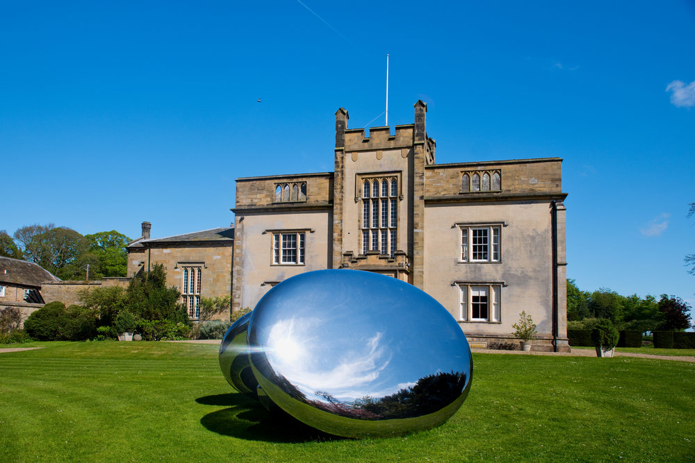 Sculpture by Qi Yafeng at Cheeseburn; photographed by Colin Davison