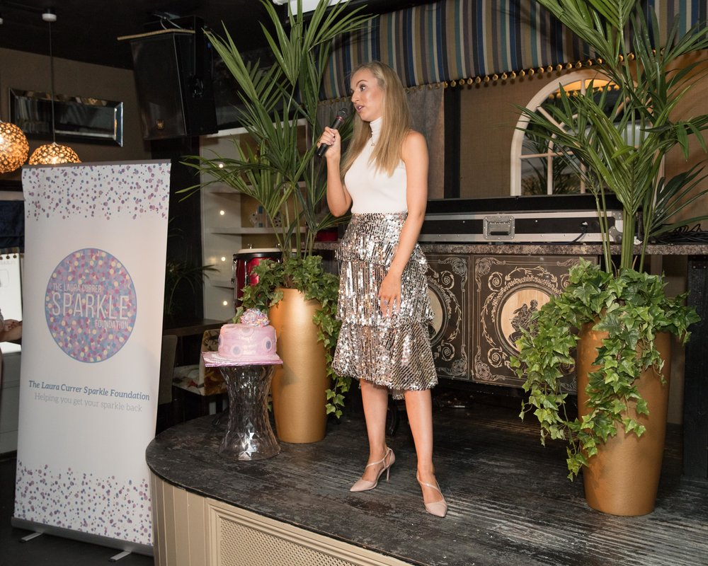 Laura Currer launches The Sparkle Foundation © John Millard