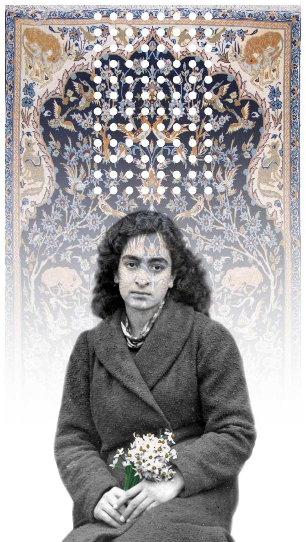 Samira-Alikhanzadeh,-Untitled,-antique-Esfahan-rug,-mirror-fragments,-hand-painted-digital-print-on-plexiglass,-136-x-75-cm,-2009.jpg