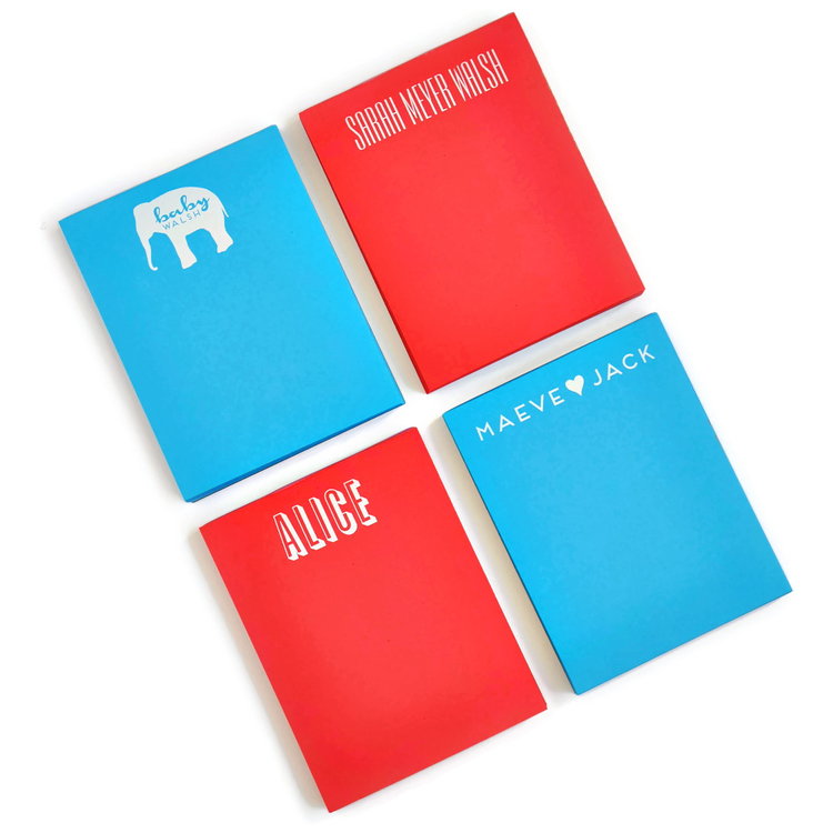 Small Primary Colors Notepad starting from $18