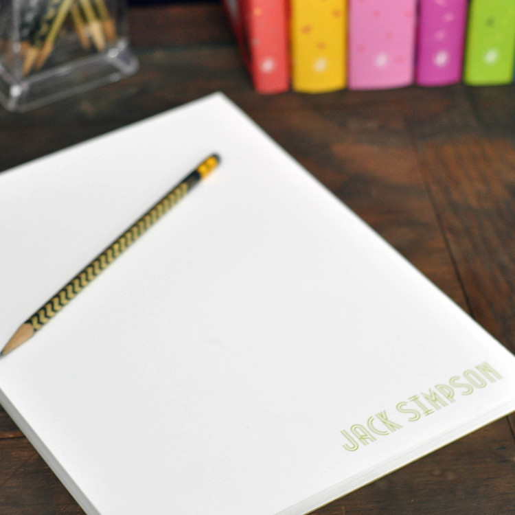 Letter Executive Notepad starting from $28