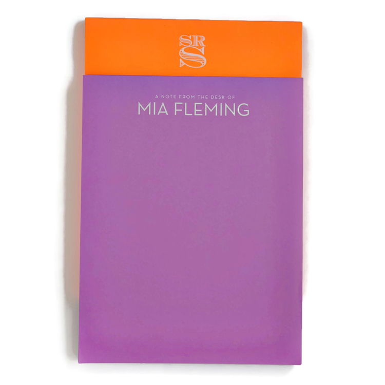 Letter White on Bright Notepad starting from $40