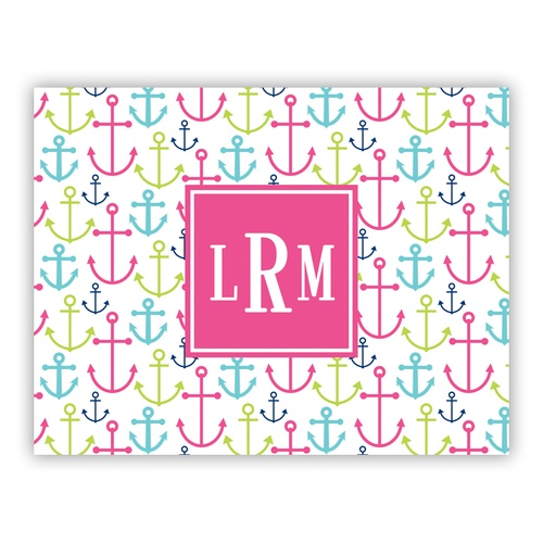 Happy Anchors Pink