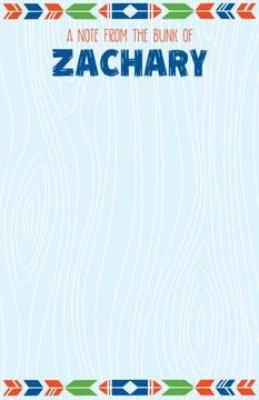 Blue Woodgrain