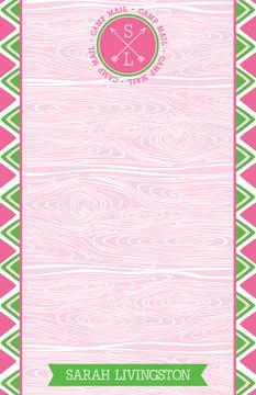 Pink Arrow Seal