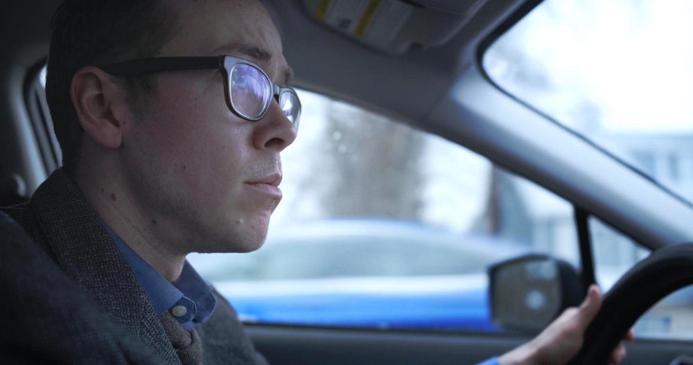 Still from The Bump, official selection for College Narrative.