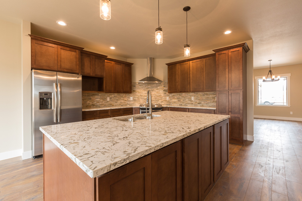 Nova Homes Mocha Kitchen