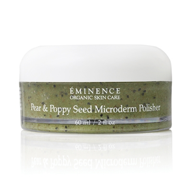 1.	Eminence Organic Skin Care Pear & Poppy Seed Microderm Polisher