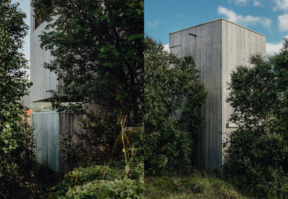 Lofoten: Vestvågøy, Gårdsvatnet fuglekikkerhus