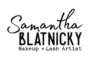 Samantha Blatnicky Makeup + Lash Artist Logo