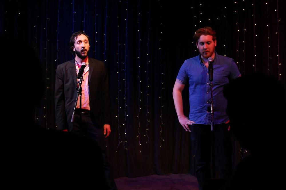 Steven Russo & Justin Gabel – April 2017 Salon Cold Open