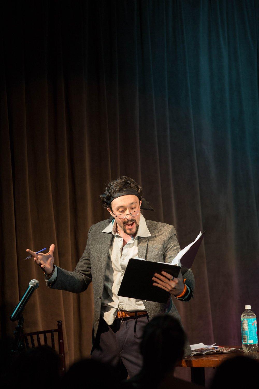 Playing Al Pacino in Alexandra Allwine's  Meryl & Al  at The Playwright's Loft III.