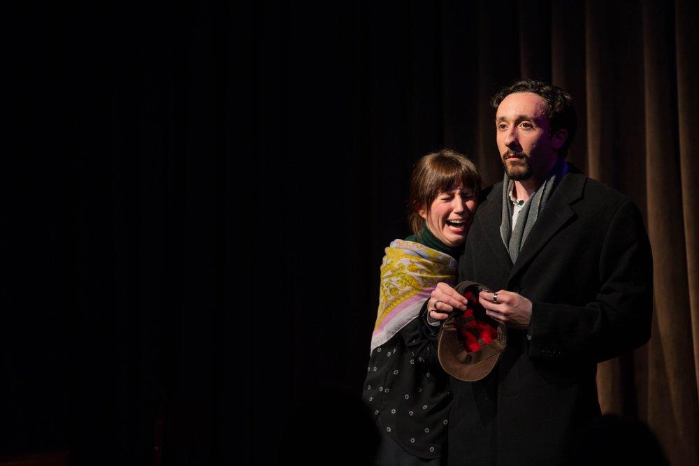 Playing Al Pacino in Alexandra Allwine's  Meryl & Al  at The Playwright's Loft III featuring Kari Buckley.