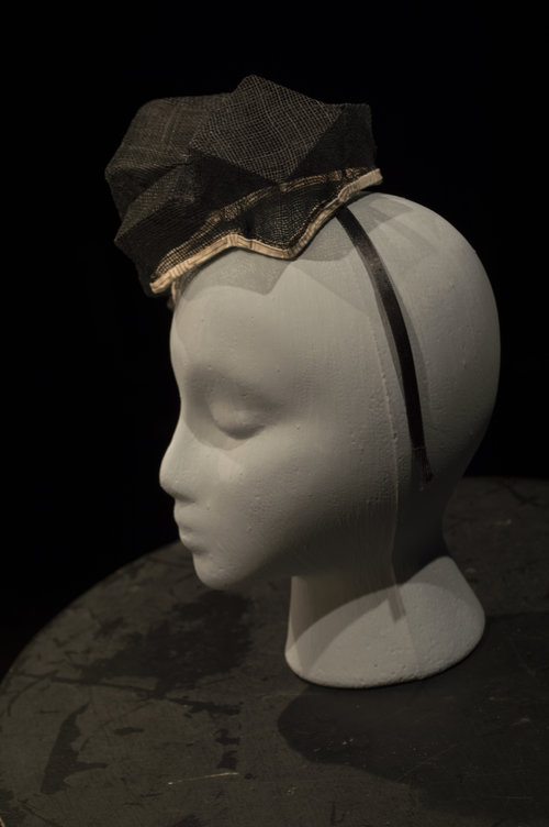 Sinamay Fascinator — Liza Dally 93ce87186fd