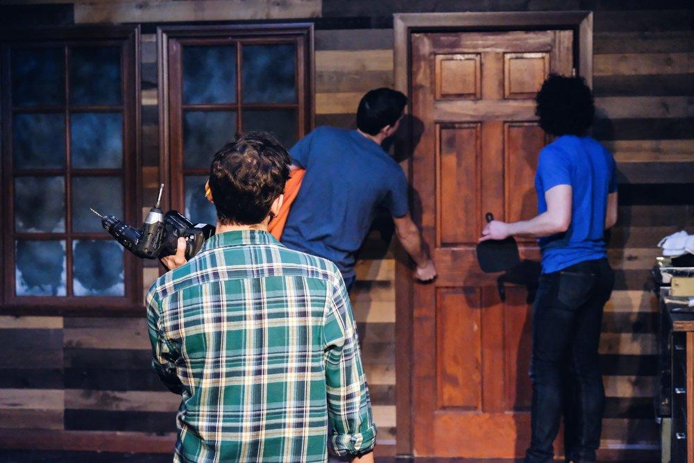 Matthew S. Crane | Joshua Warr | William Stitt | We're putting the final touches on our set...