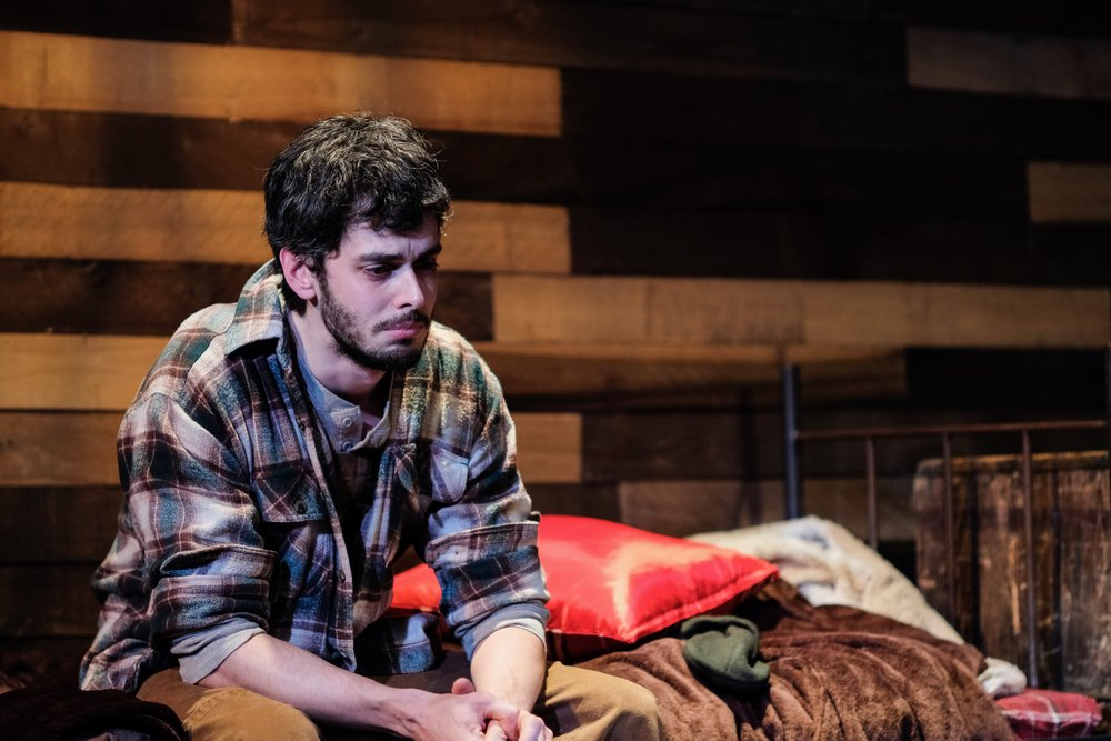 Brilliant Traces the Play | Starring Blake Merriman and Alyssa May Gold | Presented by Art of Warr Productions 2018 | at the WorkShop Theater NYC