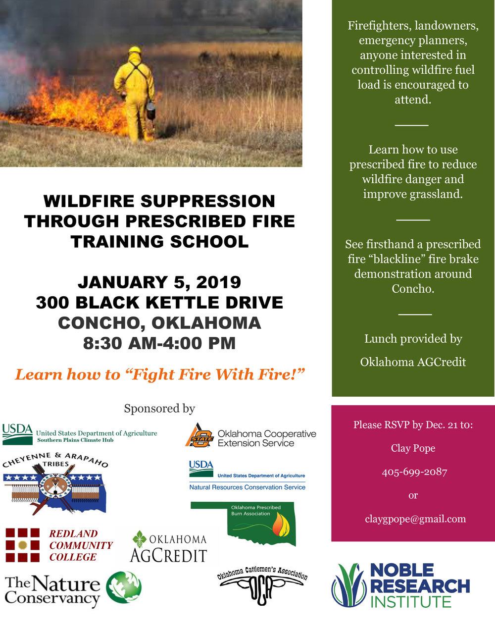 Jan. 5 Prescribed fire-wildfire suppression school flyer.jpg