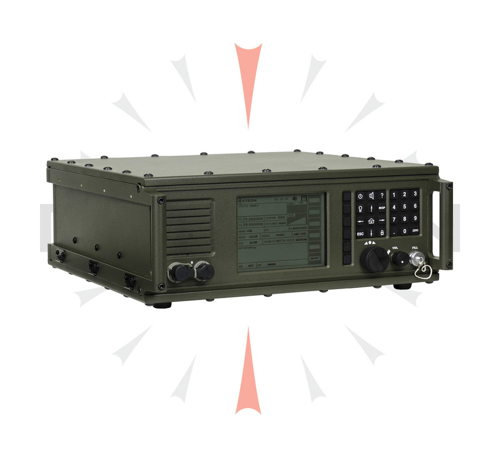 FEATURES  - • AM, AME, USB, LSB, ISB, DATA and Digital Audio (MELPe)• DSP-IF Based with Direct Digital Synthesizer• JITC-Certified Integrated MIL-STD-188-141B ALE MODEM• Validated Link-11 Compatibility• MIL-STD-810F Construction• Integrated MIL-STD-188-110B MODEM• Digital COMSEC• ECCM• Support for External Pre/Post-Selector