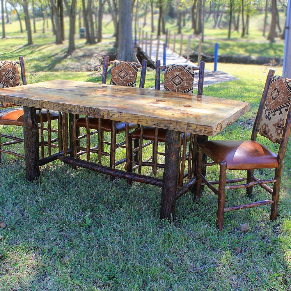 Saluda Rustics Wood and Hickory Table and Chairs.jpg