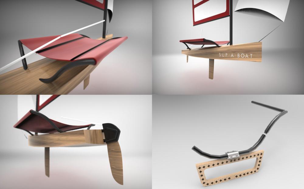 Boat renderings - Keyshot