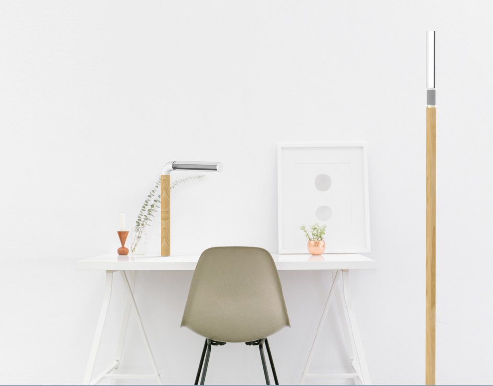 Variation: single and floor lamp