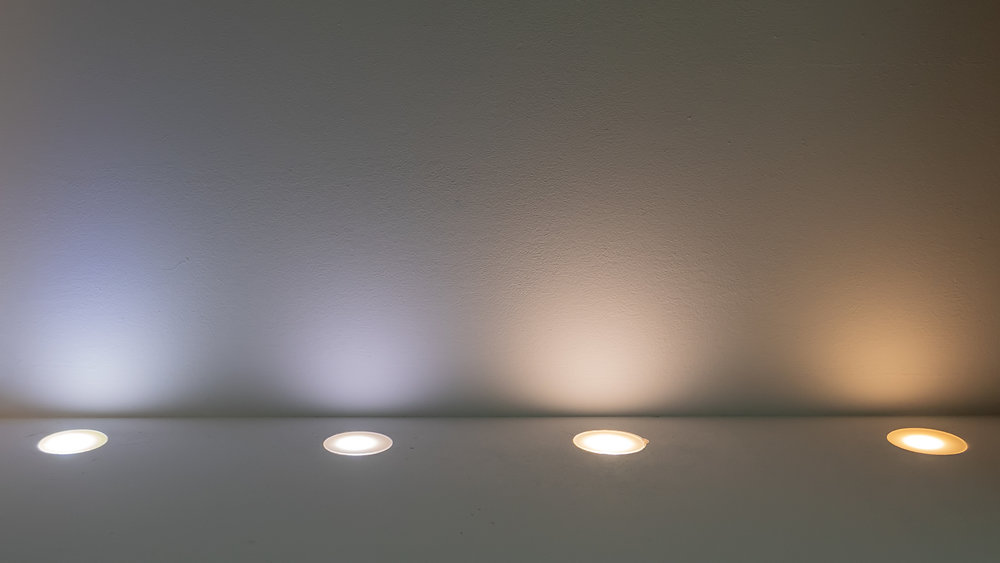 Phosphor Discs from Cold to Warm White Light