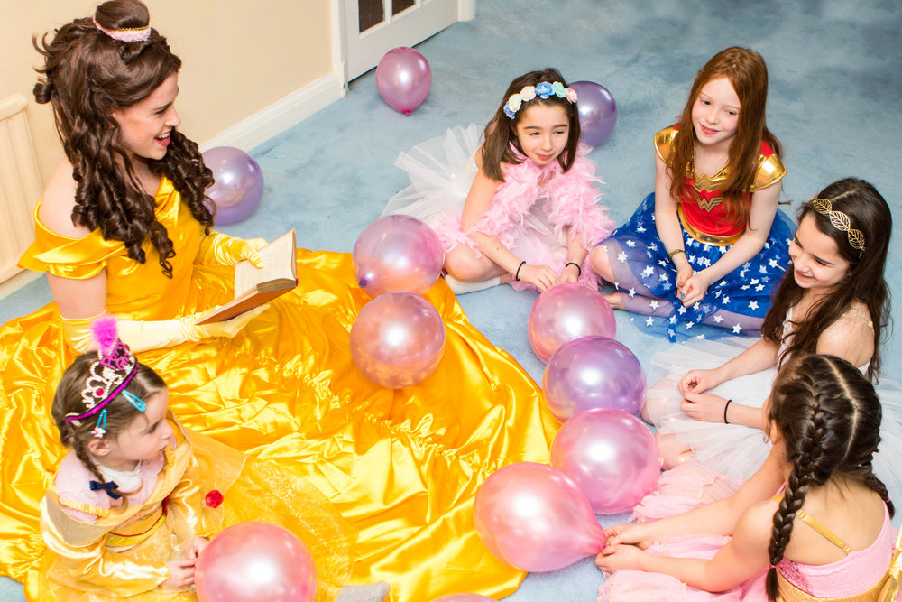 The Official Kids Party | Dance Parties | Pamper Parties | Sleepover Parties | Princess Parties