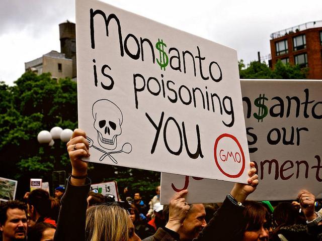 Anti-Monsanto March in New York City, Image Licensed for Reuse via Flickr