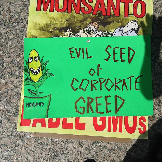 Chicago March Against Monsanto, Image Licensed for Reuse via Flickr