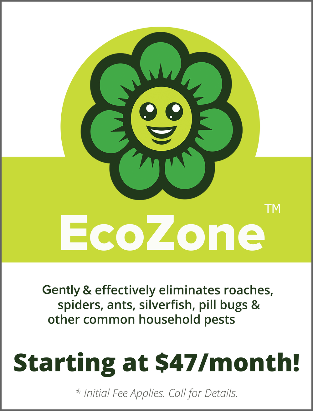 EcoZone Protection Plans start at just $47/mo.