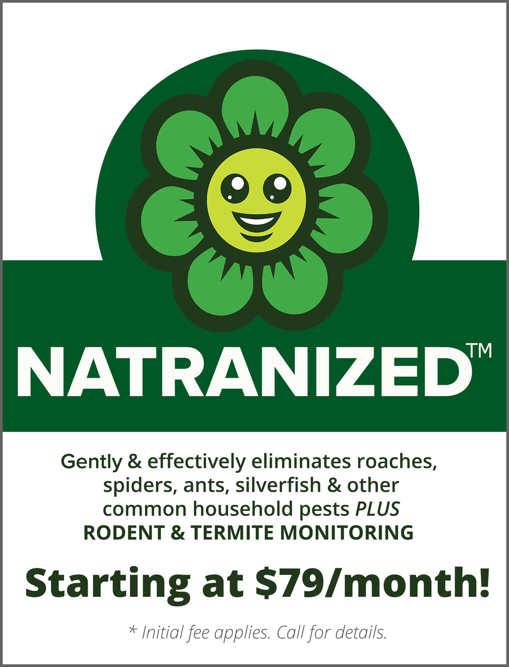 NATRANIZED Protection Plans start at just $79/mo.