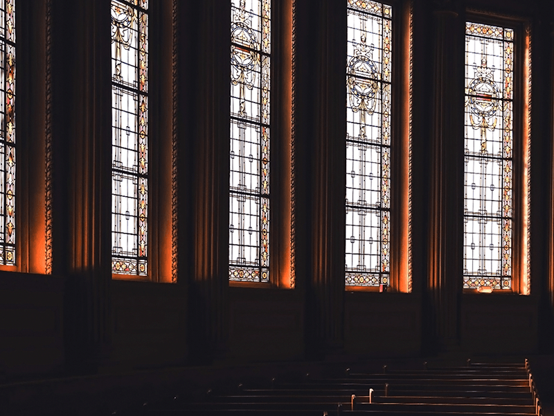 Stained glass windows, Main Stage