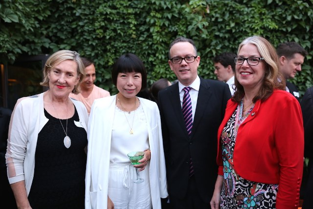 Michelle Garnaut, M Restaurant Group CEO & Advance Board Member; Angelica Cheung, Editor in Chief, Vogue China; Vaughn Barber, Global Chair, KPMG Global China Practice & Chairman of The Australian Chamber of Commerce in China (Beijing); and      H.E. Ms Jan Adams AO, PSM, Australian Ambassador to China