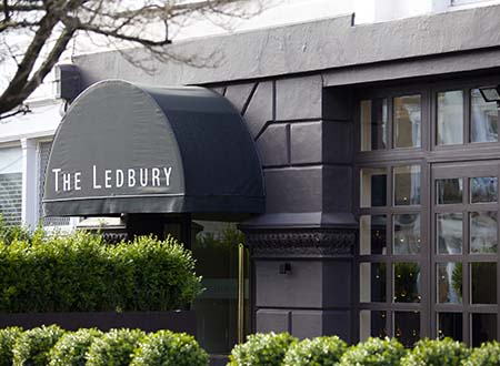 The Ledbury in Notting Hill is so popular that it's notoriously difficult to get a table.