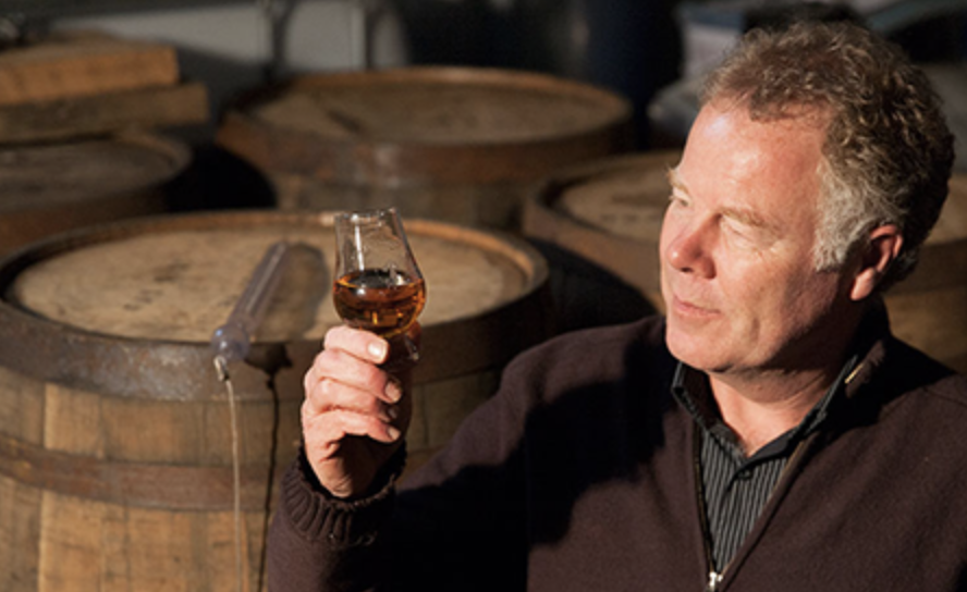 Head Distiller at Sullivans Cove, Patrick Maguire. Photo by Natalie Mendham.