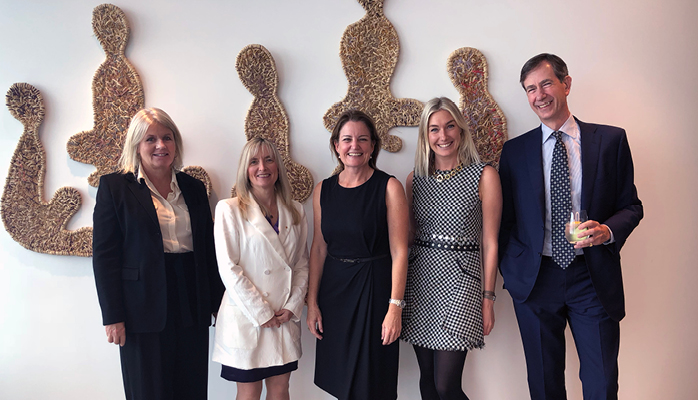 Yasmin Allen, Chair, Advance, Professor Carolyn McGregor, AM, Emma Rugge-Price, CEO, Australia, Advance, Alexandra Ridout, Manager, Corp Engagement, John Williamson-Noble, Partner, Gilbert+Tobin