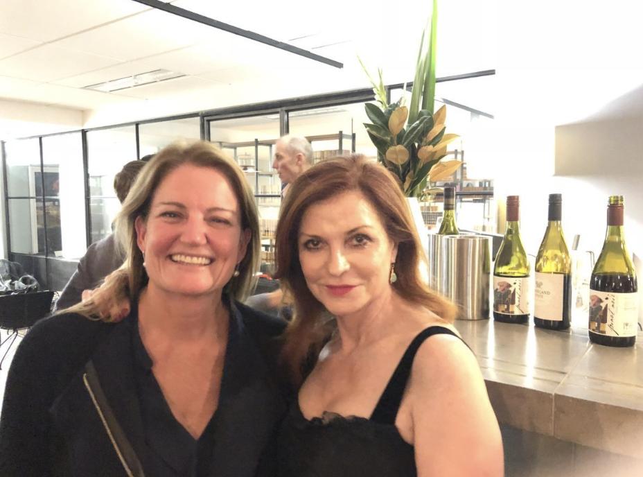Advance Australian CEO, Emma Rugge-Price with Maureen Dowd