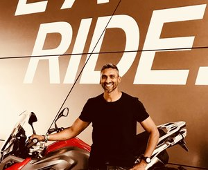Srinivas Reddy: A passion for two wheels — Advance