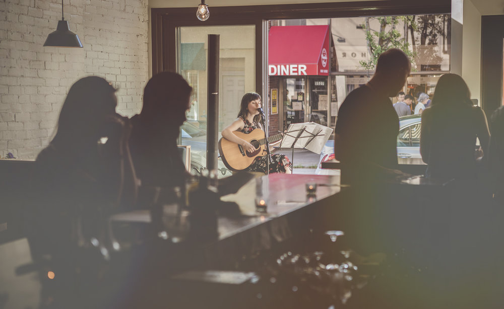 Live Music in Shadyside by Kaitlin Conti
