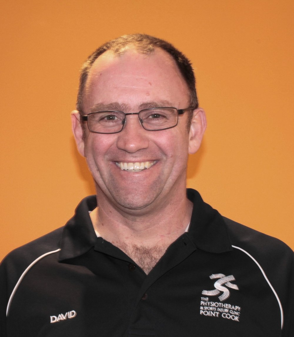 Hi! My name is David. - Sports Physiotherapist, Masters of Sports Physiotherapy.David is a senior physiotherapist and co-director of the clinic. Since achieving his Bachelor of Physiotherapy degree in 1995 he has gained over 20 years experience in sporting and musculoskeletal injuries working both in Australia and overseas. David has aided the Victorian Institute of Sport, Olympic Park Sports Medicine Clinic and the Richmond Football Club while studying for his Masters in Sports Physiotherapy. He has also worked closely with the Victorian Women's Hockey.David's personal interests include sailing, fishing, snow skiing, scuba diving, hockey and spending time with his two daughters.David is available:Monday 8am - 7pmTuesday 8am - 12pmWednesday 8am - 7pmFriday 8am - 11am