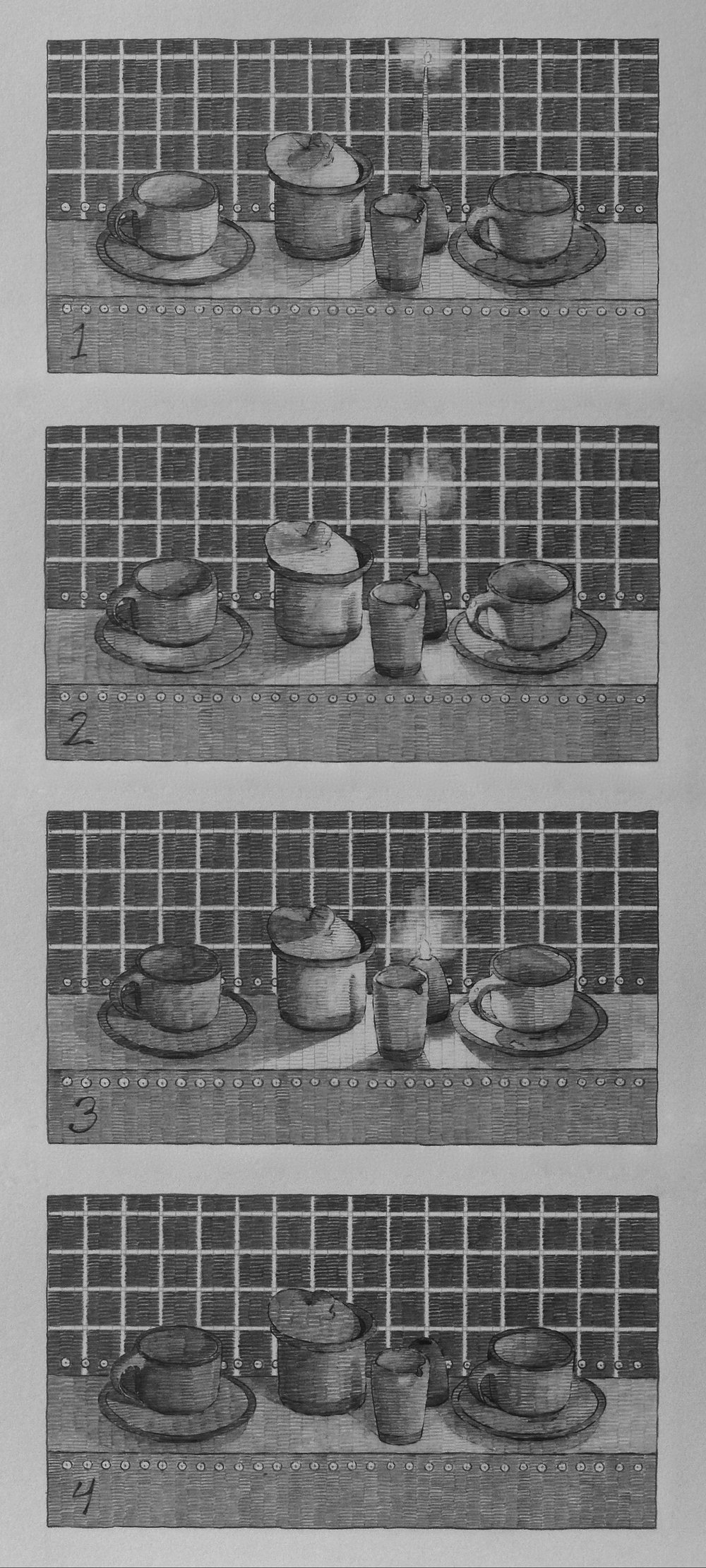 Sequence 5., Arranged