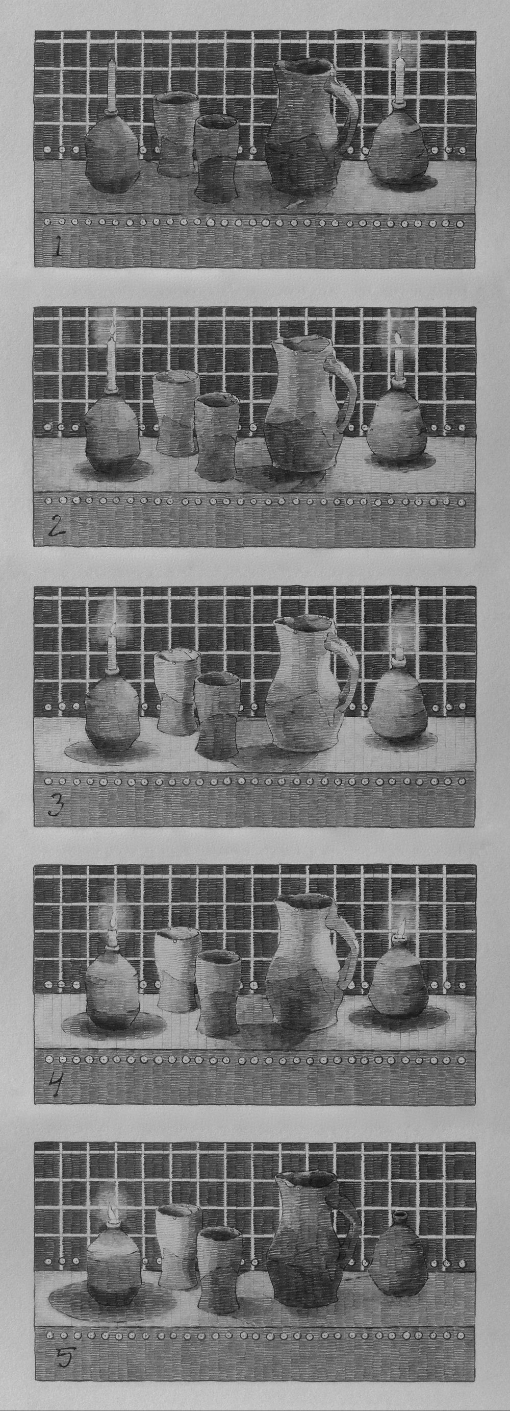 Sequence 3., Arranged
